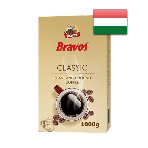 Кофе молотый Bravos Classic 1000 г Венгрия