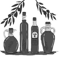 Оливковое масло и бальзамик уксус