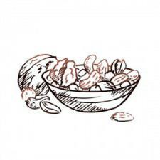 Орехи, арахис и фисташки