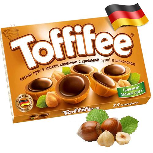 Конфеты Toffifee лесной орех в сливочной нуге 125 г Германия