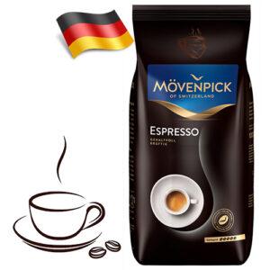 Кофе в зернах Movenpick Espresso 1кг Германия