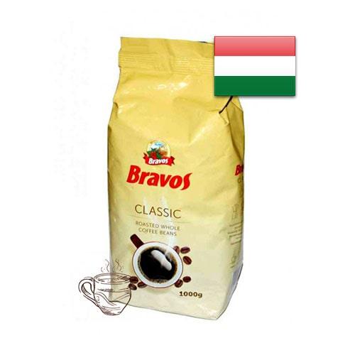 Кофе в зернах Bravos Classic 1000 г Венгрия