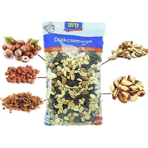 Орехи смесь из пяти видов Aro 1000 г