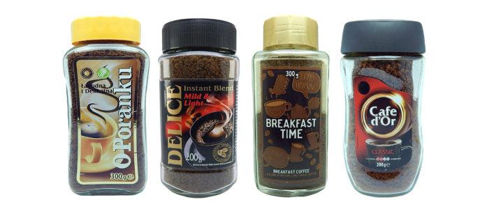 Сравнение растворимого кофе