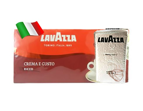 Кофе молотый Lavazza Crema e Gusto Ricco 250 г Италия