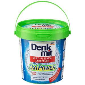 Пятновыводитель для цветного белья DenkMit Oxi Power 750 грамм