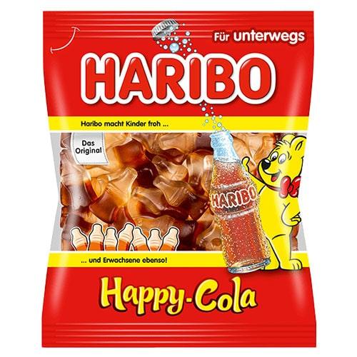 Желейные конфеты Haribo Happy-Cola 200 грамм