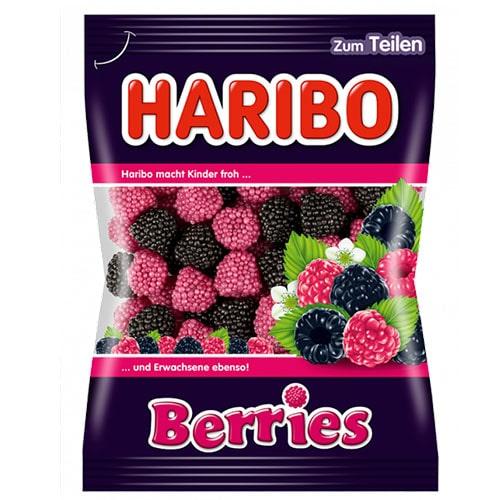 Желейные конфеты Haribo Berries ягоды 200 грамм