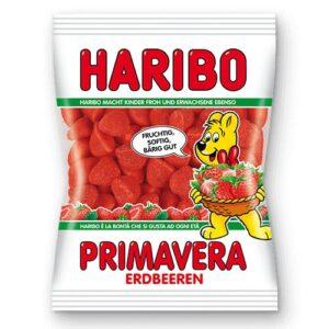 Жевательные конфеты Haribo Erdbeeren клубника 100 грамм