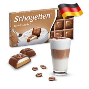 Шоколад молочный Shogetten Latte Macchiato 100г Германия