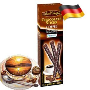 Шоколадные палочки Maitre Truffout со вкусом кофе 75 г Германия