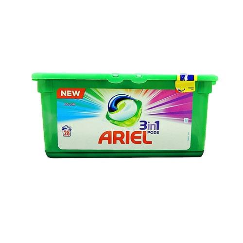 Капсулы для стирки Ariel Color 28 штук