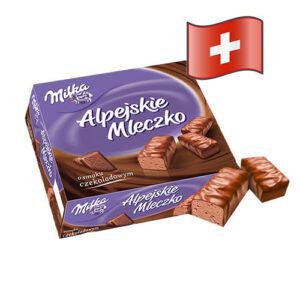 Конфеты Milka Альпийское Молоко с шоколадом 330гр Швейцария