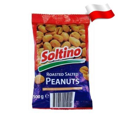 Арахис соленый Soltino 500 г Польша