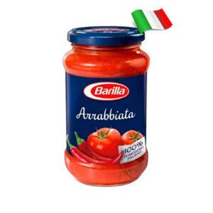 Соус томатный с перецем чили и чесноком Barilla Arrabbiata 400гр Италия