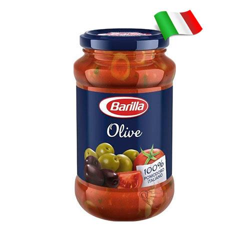 Соус томатный с оливками Barilla Olive 400гр Италия