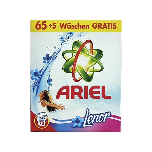 Стиральный порошок для белых и цветных вещей Ariel Lenor 5,25кг
