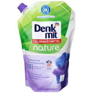 Гель для стирки цветного белья Denk Mit Nature 1.5 литра