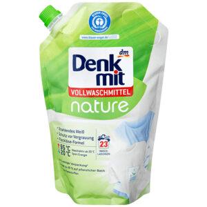 Гель для стирки белого белья DenkMit Nature 1.5л Германия