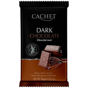 Купить шоколад черный Cachet Dark 54%
