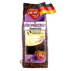 Капучино-порошок Hearts со вкусом Амаретто 1000 грамм Германия