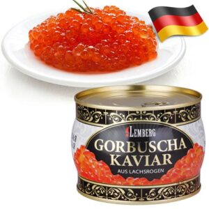 Красная икра Lemberg Gorbuscha 500гр Германия