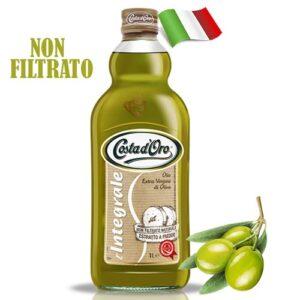 Масло оливковое нефильтрованное Costa d'Oro Integrale 1000мл Италия