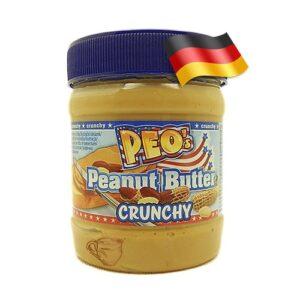 Арахисовае масло с кусочками PEO`s Crunchy 340 грамм Германия