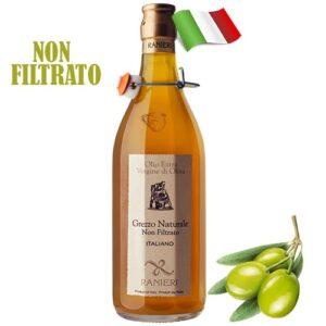 Масло оливковое нефильтрованное Ranieri 1000мл Италия