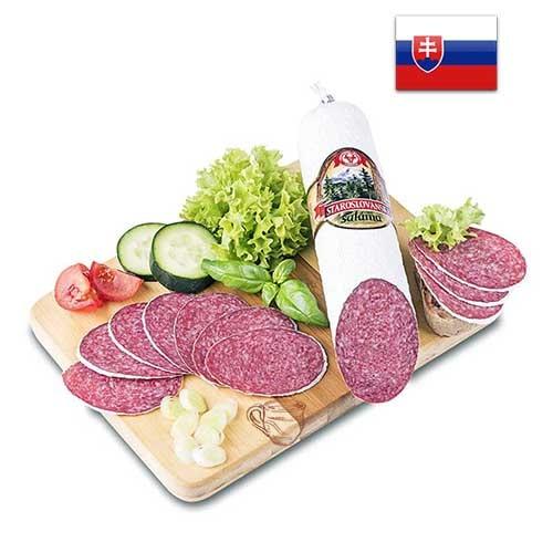 Колбаса салями Staroslovanská saláma Словакия