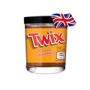 Шоколадная паста Twix с кусочками 200 грамм Англия