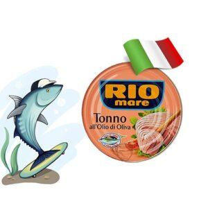 Тунец в собственном соку Rio Mare 80 грамм Италия