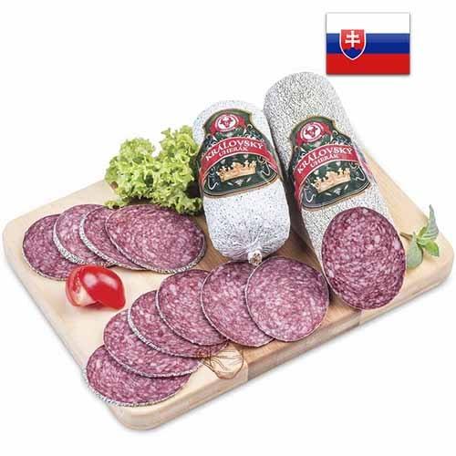 Колбаса салями Kralovsky uherak Словакия