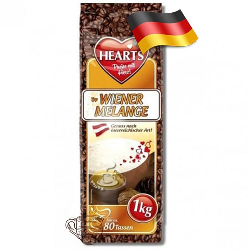 Капучино-порошок Hearts по-венски 1000 грамм Германия