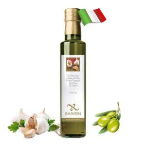 Масло оливковое холодный отжим Ranieri Aglio с чесноком 250мл Италия