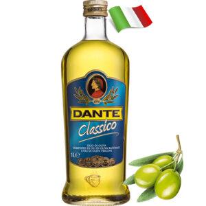 Масло оливковое рафинированное Dante Classico 1000 мл Италия