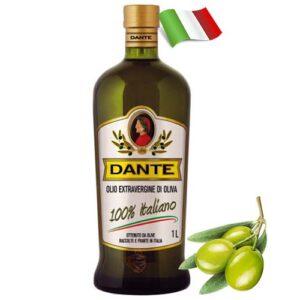 Масло оливковое холодный отжим Dante Extra Vergine 1000мл Италия