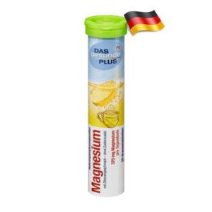 Шипучие таблетки Das gesunde plus Mg с магнием 20шт Германия