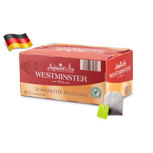 Чай черный пакетированный Westminster 50шт Германия