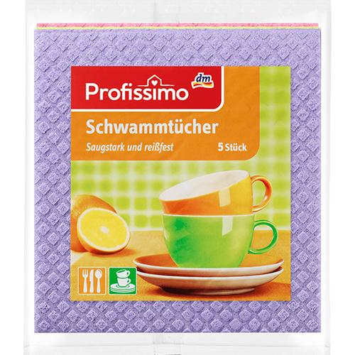 Губка для влажной уборки DenkMit Profissimo 5шт Германия