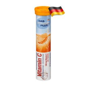 Шипучие таблетки Das gesunde plus Vitamin С 20шт Германия