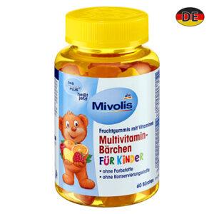 Мультивитаминный комплекс для детей Das gesunde plus Bärchen 60шт Германия
