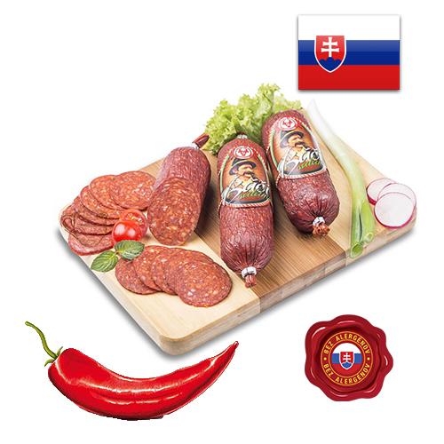 Колбаса салями Báči saláma Словакия