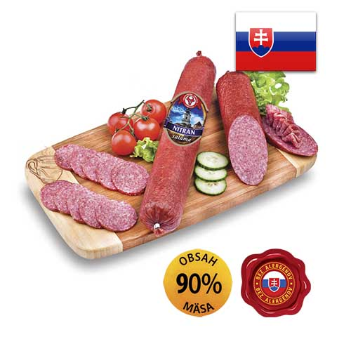 Колбаса салями Nitran salama Словакия