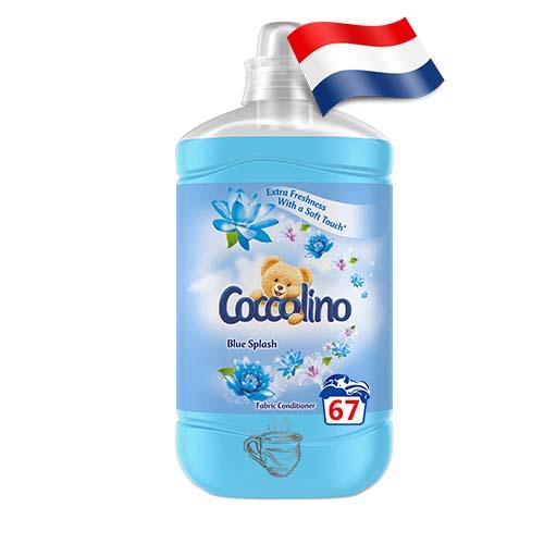 Ополаскиватель для белья Coccolino Голубой Всплеск 67 Голландия