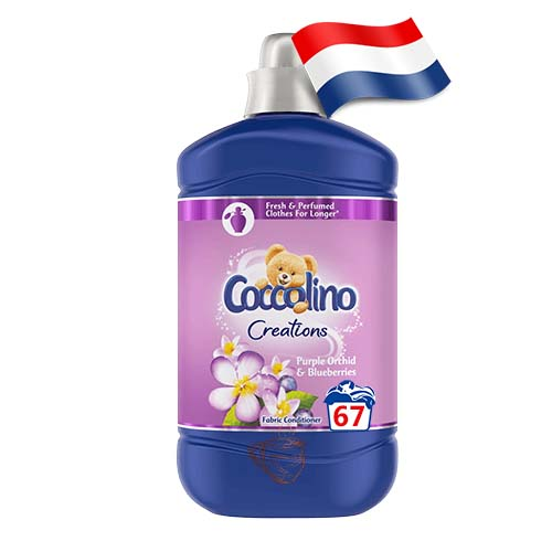 Ополаскиватель для белья Coccolino Purple Orthid & Blueberries 67 Голландия