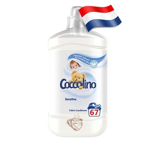 Ополаскиватель для белья Coccolino Sensitive 67 Голландия