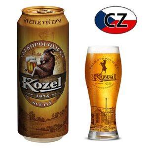 Пиво баночное светлое Kozel 10% 0,5л Чехия