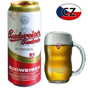 Пиво баночное светлое Budweiser Original 12% 0,5л Чехия