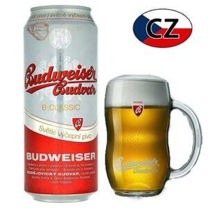Пиво баночное светлое Budweiser Classic 10% 0,5л Чехия